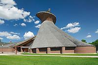 Precieux Sang Church. Architect Etienne Gaboury. St. Boniface. <br /> Winnipeg<br /> Manitoba<br /> Canada