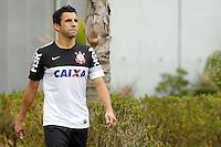 SAO PAULO, SP 24 JUNHO 2013 - TREINO CORINTHIANS - O jogador Maldonado, treinou na manhã de hoje, 24, no Ct. Dr. Joaquim Grava, na zona leste de São Paulo. FOTO: PAULO FISCHER/BRAZIL PHOTO PRESS