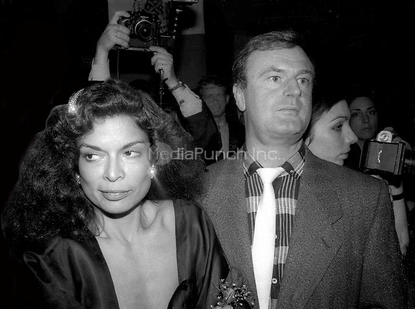 Bianca Jagger and Peter Allen Undated<br /> Photo By Adam Scull/PHOTOlink/MediaPunch