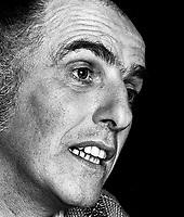 FILE PHOTO - <br /> Gilles Vigneault en 1980<br /> <br /> PHOTO :  Andre Boucher - Agence quebec Presse<br /> <br /> HI RES Sur demande - aucune restriction