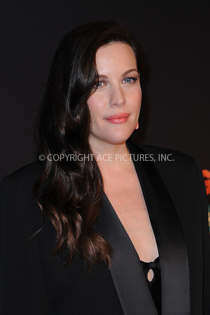 WWW.ACEPIXS.COM<br /> March 26, 2015 New York City<br /> <br /> Liv Tyler attending the 2015 New York Spring Spectacular at Radio City Music Hall on March 26, 2015 in New York City.<br /> <br /> Please byline: Kristin Callahan/AcePictures<br /> <br /> ACEPIXS.COM<br /> <br /> Tel: (646) 769 0430<br /> e-mail: info@acepixs.com<br /> web: http://www.acepixs.com