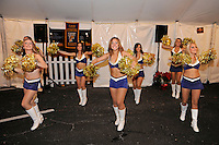 20 December 2011:  FIU's Golden Dazzlers perform for tailgating fans prior to the game.  The Marshall University Thundering Herd defeated the FIU Golden Panthers, 20-10, to win the Beef 'O'Brady's St. Petersburg Bowl at Tropicana Field in St. Petersburg, Florida.