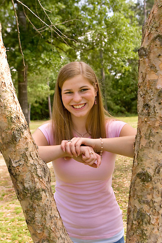 Jessica Vermaelen senior portrait by Steve Campbell