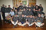 Bombay Senior Reserve team pose in their dress shorts at the after match function. Counties Manukau Premier 2 Championship game between Bombay and Papakura played at Bombay on May 13th, 2006. Papakura won 8 - 7.