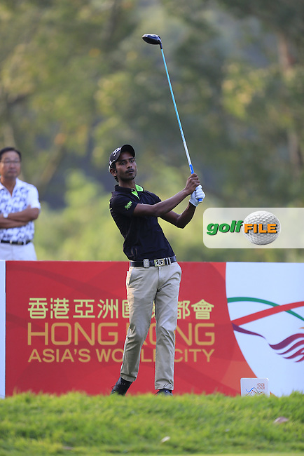 during Round 1 of the 2015 UBS Hong Kong Open at the Hong Kong Golf Club in The Netherlands on 2/10/15.<br /> Picture: Thos Caffrey | Golffile