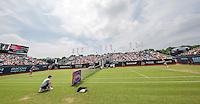 Den Bosch, Netherlands, 08 June, 2016, Tennis, Ricoh Open, Overall view of centercourt with Richel Hogenkamp<br /> Photo: Henk Koster/tennisimages.com