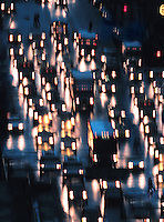 Traffic jam, New York<br />