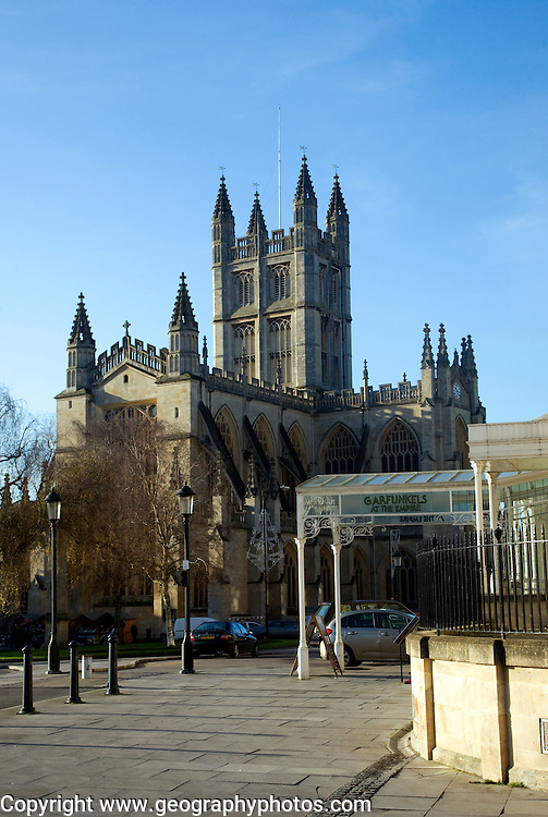 Abbey church, Bath, England