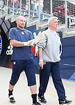 29 January 2006: U.S. goalkeeper Matt Reis (l) and goalkeeping coach Milutin Soskic (r). The United States Men's National Team defeated their counterparts from Norway 5-0 at the Home Depot Center in Carson, California in a men's international friendly soccer game.