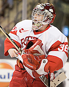 John Curry - The Boston University Terriers defeated the Boston College Eagles 2-1 in overtime in the March 18, 2006 Hockey East Final at the TD Banknorth Garden in Boston, MA.