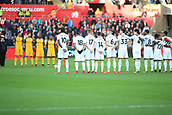4th November 2017, Liberty Stadium, Swansea, Wales; EPL Premier League football, Swansea City versus Brighton and Hove Albion; Both teams observed a minutes silence before kick off