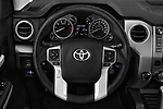 Car pictures of steering wheel view of a 2017 Toyota Tundra TRD-Pro-4WD-Crew-Max-Short-Bed 4 Door Pickup Steering Wheel