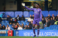 Arsenal goalkeeper, Arthur Okonkwo during Chelsea Under-23 vs Arsenal Under-23, Premier League 2 Football at Stamford Bridge on 15th April 2019