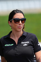 May 30, 2013; Englishtown, NJ, USA: NHRA funny car driver Alexis DeJoria at Raceway Park. Mandatory Credit: Mark J. Rebilas-