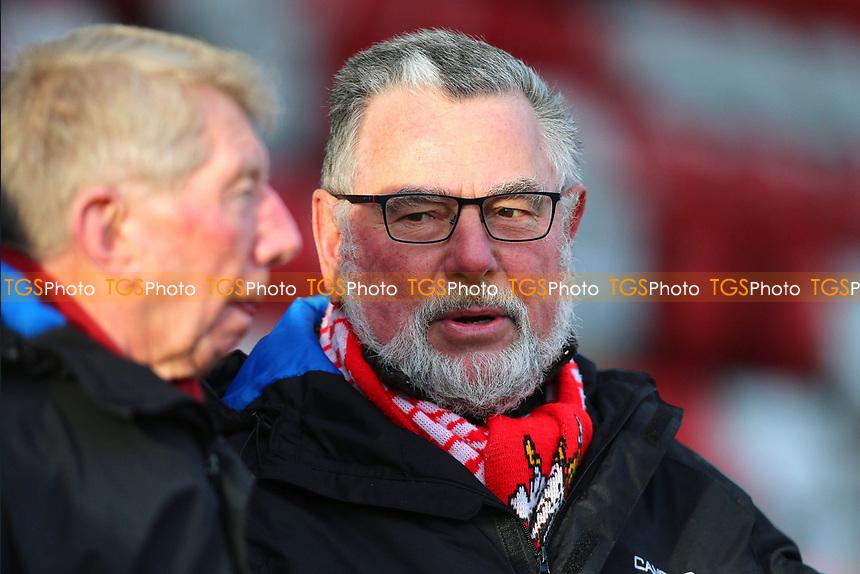 Stevenage fan during Stevenage vs Cheltenham Town, Sky Bet EFL League 2 Football at the Lamex Stadium on 1st January 2018