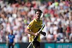 GER - Mannheim, Germany, May 27: During the men semi-final match between Rot-Weiss Koeln and Harvestehuder THC at the Final4 tournament May 27, 2017 at Am Neckarkanal in Mannheim, Germany. (Photo by Dirk Markgraf / www.265-images.com) *** Local caption *** Xaver Hasun #27 of Harvestehuder THC