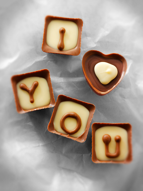 """I Love You"" Valentines or Mothers Day Chocolates"