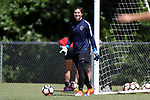 CARY, NC - MAY 04: Sabrina D'Angelo. The North Carolina Courage held a training session on May 4, 2017, at WakeMed Soccer Park Field 6 in Cary, NC.