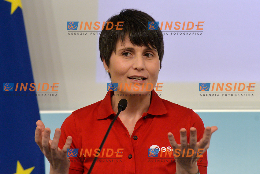 Astronaut Samantha Cristoforetti<br /> Rome November 21st 2019. Palazzo Chigi. Press conference for International Day for the Elimination of Violence against Women<br /> Foto  Samantha Zucchi Insidefoto