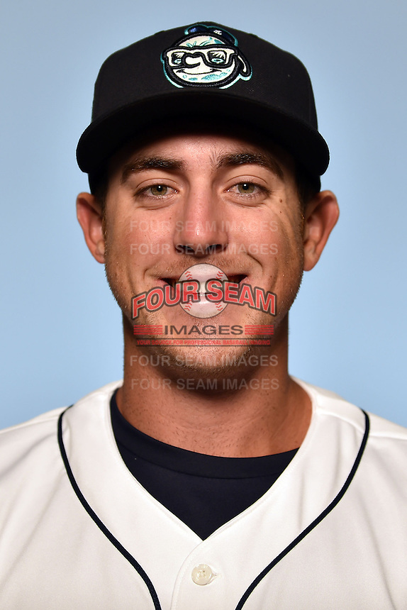Asheville Tourists pitcher Zach Jemiola (29) on April 7, 2015 in Asheville, North Carolina. (Tony Farlow/Four Seam Images)