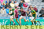Mark Ryan Kerry in action against Ryan Forde Galway in the All Ireland Minor Football Final in Croke Park on Sunday.
