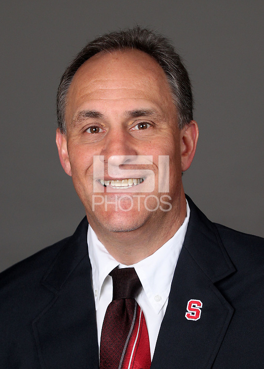 STANFORD, CA - APRIL 5: Vic Fangio of the Stanford football team poses for a headshot on April 5, 2010 in Stanford, California.