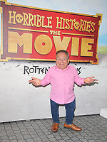 "Warwick Davis at the ""Horrible Histories: The Movie - Rotten Romans"" world film premiere, Odeon Luxe Leicester Square, Leicester Square, London, England, UK, on Sunday 07th July 2019.<br /> CAP/CAN<br /> ©CAN/Capital Pictures"