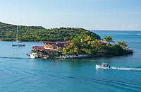 Saba Rock Resort<br /> Saba Rock<br /> British Virgin Islands