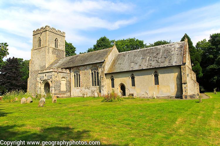 Parish church of Saint Peter, Monk Soham, Suffolk, England, UK