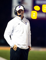 Fayetteville head football coach Casey Dick against Rogers Heritage at Gates Stadium, Rogers, AR on November 1, 2019 / Special to NWA Democrat Gazette David Beach