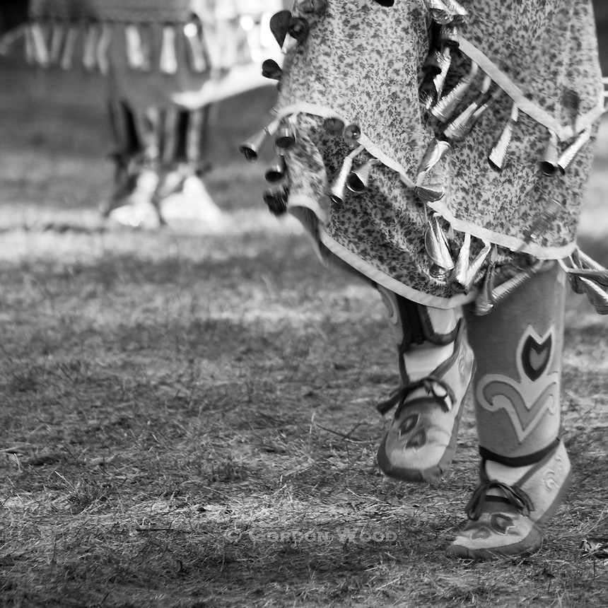 Native Indian Jingle Dresses at Pow Wow