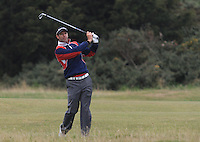 Bradley Dredge (WAL) on the 17th fairway during Round 4 of the 2015 Alfred Dunhill Links Championship at the Old Course in St. Andrews in Scotland on 4/10/15.<br /> Picture: Thos Caffrey | Golffile