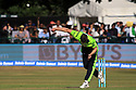 Ireland's Peter Chase in action during a T20 match between Ireland and India at the Malahide cricket club in Dublin on June 27, 2018. Photo/Paul McErlane