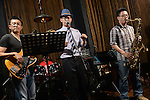 DC Stage, Kaohsiung -- Members of SMALLS JAZZ COMBO on stage during a performance.