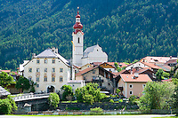Pfunds, Tyrol, Austria, June 2010. The Village of Pfunds on the Inn River .  Photo by Frits Meyst/Adventure4ever.com