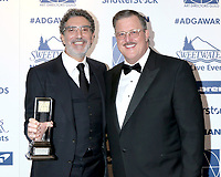 LOS ANGELES - FEB 1:  Chuck Lorre and Billy Gardell at the 2020 Art Directors Guild Awards at the InterContinental Hotel on February 1, 2020 in Los Angeles, CA