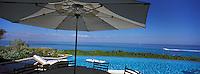 """Iles Bahamas / New Providence et Paradise Island / Nassau: Hotel """"One & Only Océan Club"""" la piscine d'une des villas privées"""