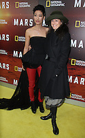 NEW YORK, NY-October 26: Jihae, Julie Taymor  at National Geographic Channel presents the Epic Six-Part Event Series MARS premiere at the School of Visual Arts  in New York.October 26, 2016. Credit:RW/MediaPunch
