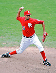 5 August 2007: Washington Nationals pitcher Luis Ayala in action against the St. Louis Cardinals at RFK Stadium in Washington, DC. The Nationals defeated the Cardinals 6-3 to sweep their 3-game series...Mandatory Photo Credit: Ed Wolfstein Photo