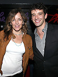 Alice Ripley and Michael Urie attend the opening night performance reception for the Keen Company production of Marry Me A Little at the Clurman Theatre in New York City on10/2/2012.