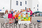 Pictured at the Family Fun Day in the Old Barracks in Cahersiveen on Saturday were front l-r; Alex Gibbons, Eoin Murphy, Craig Murphy, back l-r; Sarah O'Connor, Nicole Devlin, Daragh Devlin, Ciara Clifford, Ronán Clifford, Shane Draper, Dylon O'Connor, Killian O'Sullivan, Jessie Galvin & Emily Jouen.