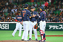 Osamu Higashio (JPN), .MARCH 2, 2013 - WBC : .2013 World Baseball Classic .1st Round Pool A .between Japan 5-3 Brazil .at Yafuoku Dome, Fukuoka, Japan. .(Photo by YUTAKA/AFLO SPORT)
