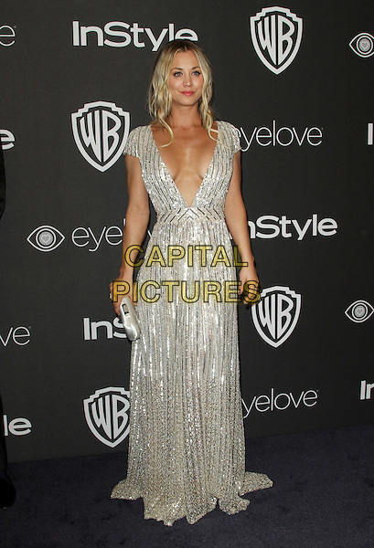 8 January 2017 - Los Angeles, California - Kaley Cuoco. InStyle &amp; Warner Bros. Pictures Golden Globes After Party 2017 held at the Beverly Hilton Hotel. <br /> CAP/ADM<br /> &copy;ADM/Capital Pictures
