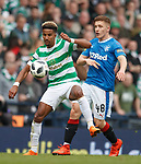 15.04.2018 Celtic v Rangers scottish cup SF:<br /> Scott Sinclair and Greg Docherty