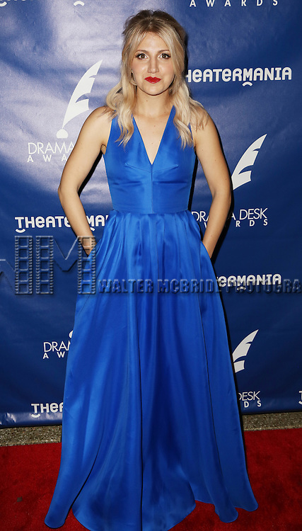 Annaleigh Ashford attends the 2015 Drama Desk Awards at Town Hall on May 31, 2015 in New York City.