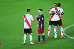 Lionel Messi (Barcelona), <br /> DECEMBER 20, 2015 - Football / Soccer : <br /> FIFA Club World Cup Japan 2015 <br /> Final match <br /> between River Plate 0-3 FC Barcelona <br /> at Yokohama International Stadium in Kanagawa, Japan. <br /> (Photo by YUTAKA/AFLO SPORT)