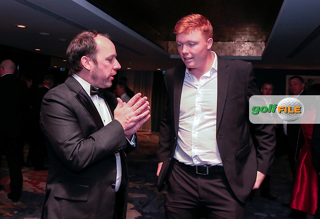 during the Golfing Union of Ireland Champions Dinner at Carton House, Maynooth, Co. Kildare. 01/02/2019<br /> Picture: Golffile   Thos Caffrey<br /> <br /> <br /> All photo usage must carry mandatory copyright credit (&copy; Golffile   Thos Caffrey)