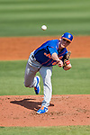 28 February 2019: New York Mets  top prospect pitcher Drew Smith on the mound during a Spring Training game against the St. Louis Cardinals at Roger Dean Stadium in Jupiter, Florida. The Mets defeated the Cardinals 3-2 in Grapefruit League play. Mandatory Credit: Ed Wolfstein Photo *** RAW (NEF) Image File Available ***