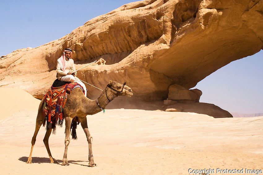 Bedouin at Wadi Rum, Jordan