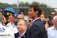 JEAN TODT (FRA) PRESIDENT OF THE INTERNATIONAL FEDERATION OF THE AUTOMOBILE RAFAEL NADAL (ESP) TENNIS MAN